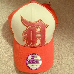 Pink Detroit tigers hat! Youth size